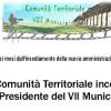 La Comunità territoriale del VII Municipio : l'assemblea con la Presidente Lozzi e la Giunta
