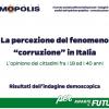 """Riparteilfuturo: la """"corruzione"""" in Italia secondo gli under 40"""