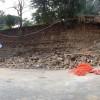 Crollo del muro di Villa Mercede: per San Lorenzo non c'è fine al peggio!