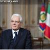 """""""Sentirsi comunità"""": il messaggio del Presidente Mattarella"""
