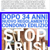 Nuovo Regolamento condono edilizio: zero notizie sui  giornali, zero notizie sul sito del  Comune.