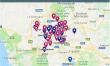 OsservatorioCasaRoma:La mappa degli immobili occupati, liberati e sgomberati a Roma dagli anni 90 ad oggi.