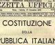 70 anni di Costituzione Italiana