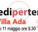 Piediperterra a Villa Ada 11 maggio 2019
