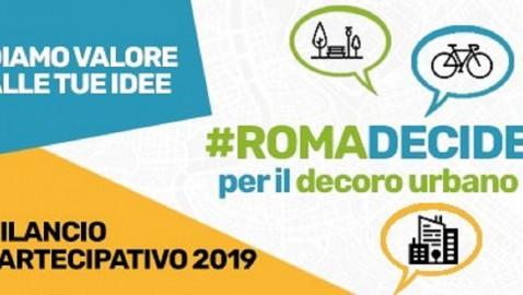 #RomaDecide, votazione finale dei progetti proposti dai cittadini