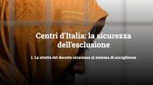 openpolis: Centri d'Italia: la sicurezza dell'esclusione