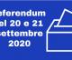 Referendum Costituzionale sulla Riduzione del numero dei Parlamentari 20/21 Settembre 2020