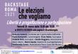 Backstage Roma 2021: 26 marzo – Libertà è  progettazione e partecipazione