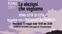 Il video di Roma 2021 Backstage  Roma città di città – Incontro con i Presidenti dei Municipi