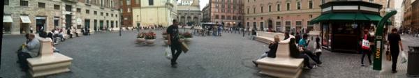 Piazza S.Silvestro oggi (foto ambm)