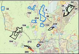 aree di riserva delibere
