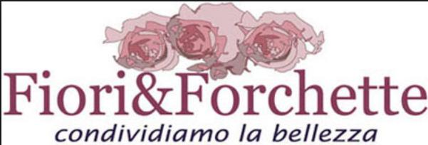 logo fiori e forchette