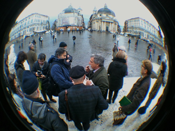 Piediperterra dal Ponte Milvio al Pantheon, 1 dicembre 2012