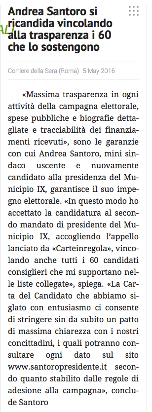 santoro carta candidato municipio corriered ellas era 5 maggio 2016