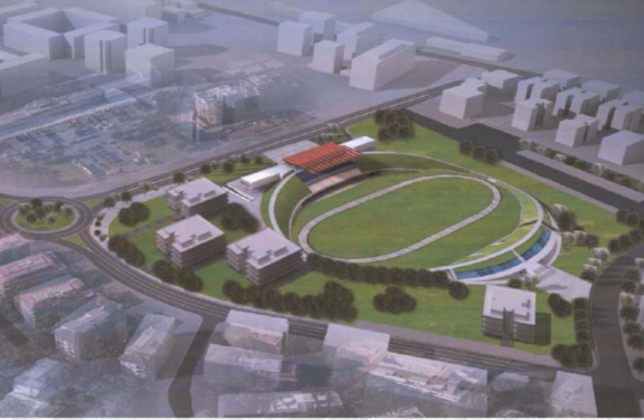 Il progetto urbanistico sull'area dell'ex Velodromo