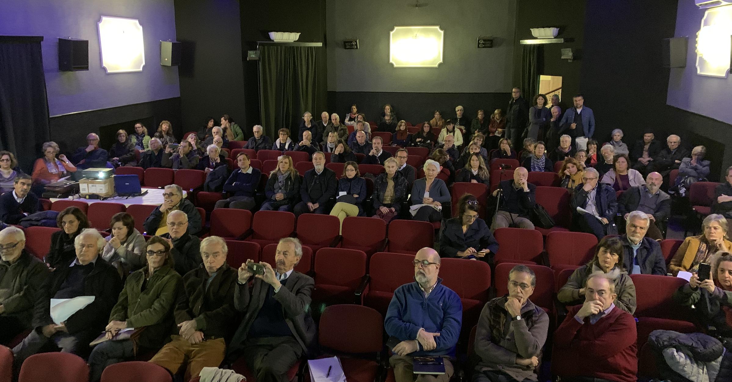 Cinema  Tiziano assemblea  ex stabilimenti militari 30 11 2019