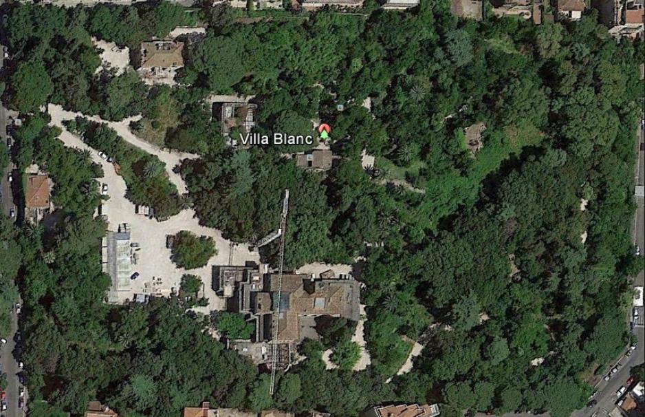 villa blanc map