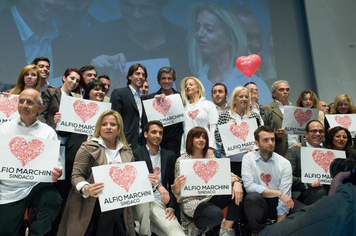 Alfio Marchini apertura campagna elettorale 27-4-2013