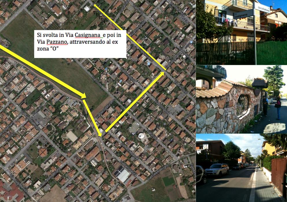 percorso Morena 6