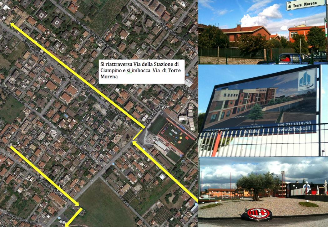 percorso Morena 7