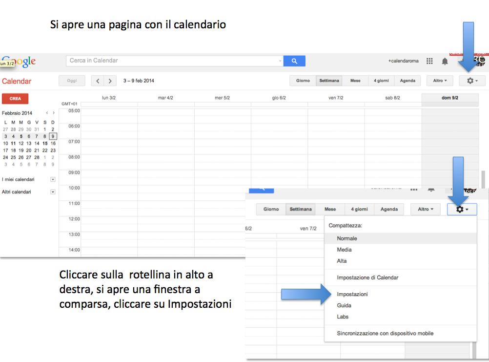 istruzioni calendario blog 2