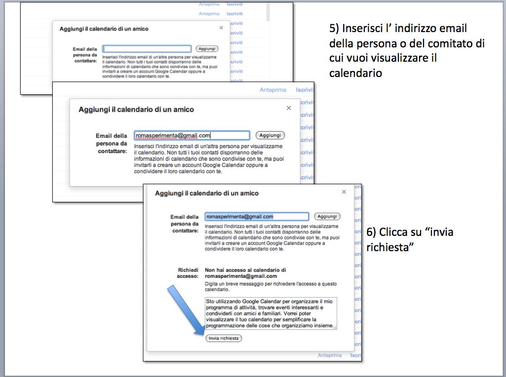 istruzioni condividere calendario gmail 2