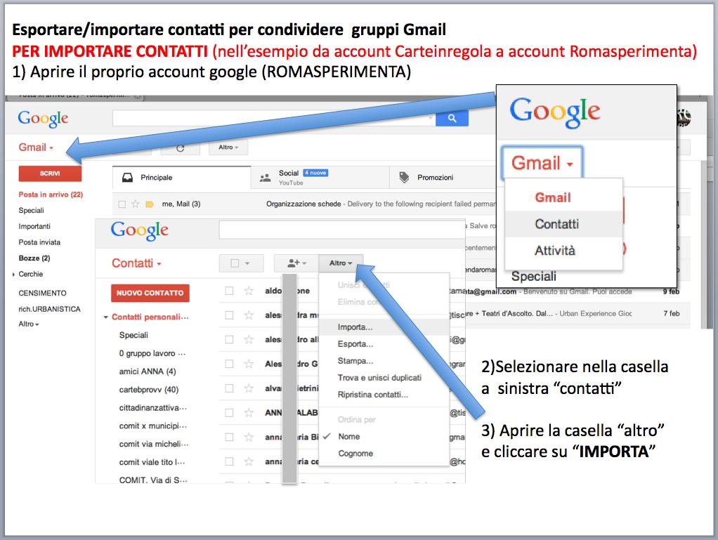 istruzioni gestione account posta Gmail - gruppi di contatti 04