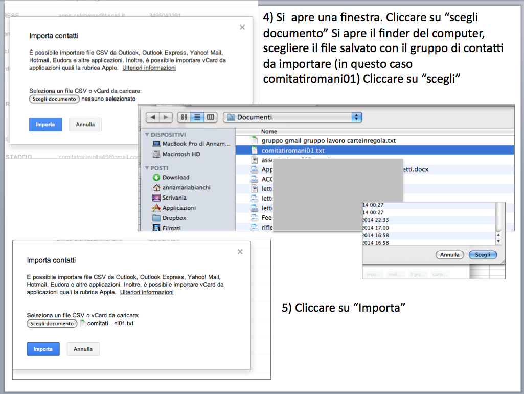 istruzioni gestione account posta Gmail - gruppi di contatti 05