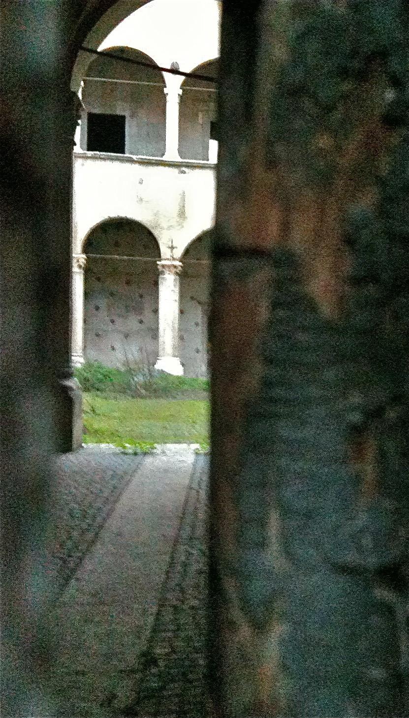 Palazzo Nardini il cortile