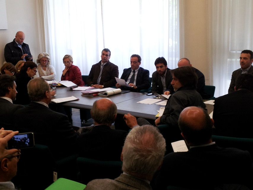 La Commissione Urbanistica del 1 aprile (Foto Roma Today)