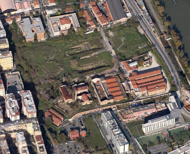 zona marconi map  3 area papareschi ex miralanza