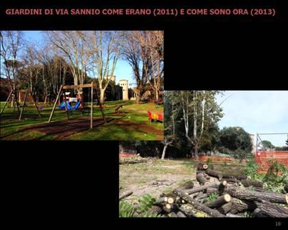 Foto 2. Giardini via sannio