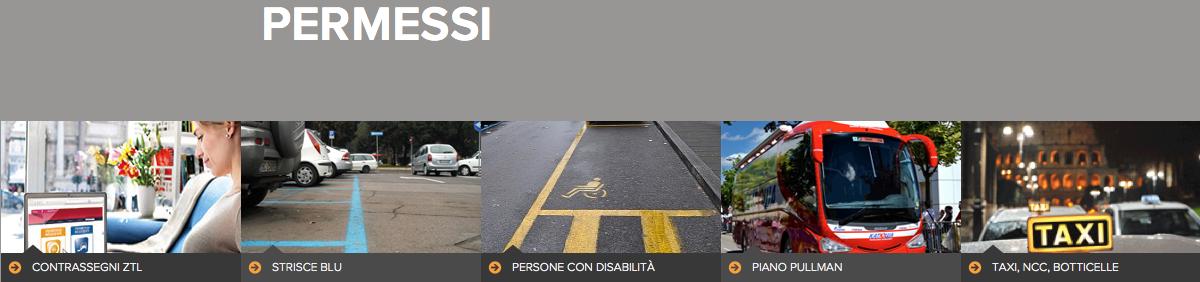 permessi ztl da sito roma agenzia mobilità