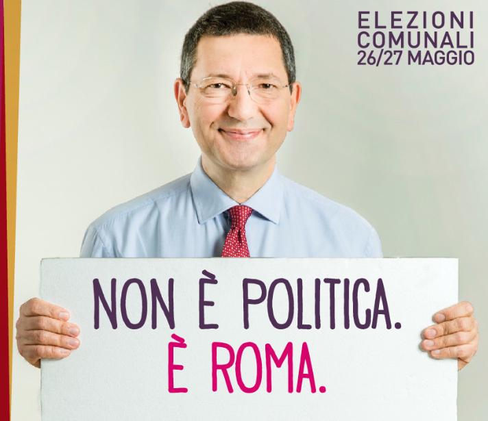 Marino parziale manifesto elettorale