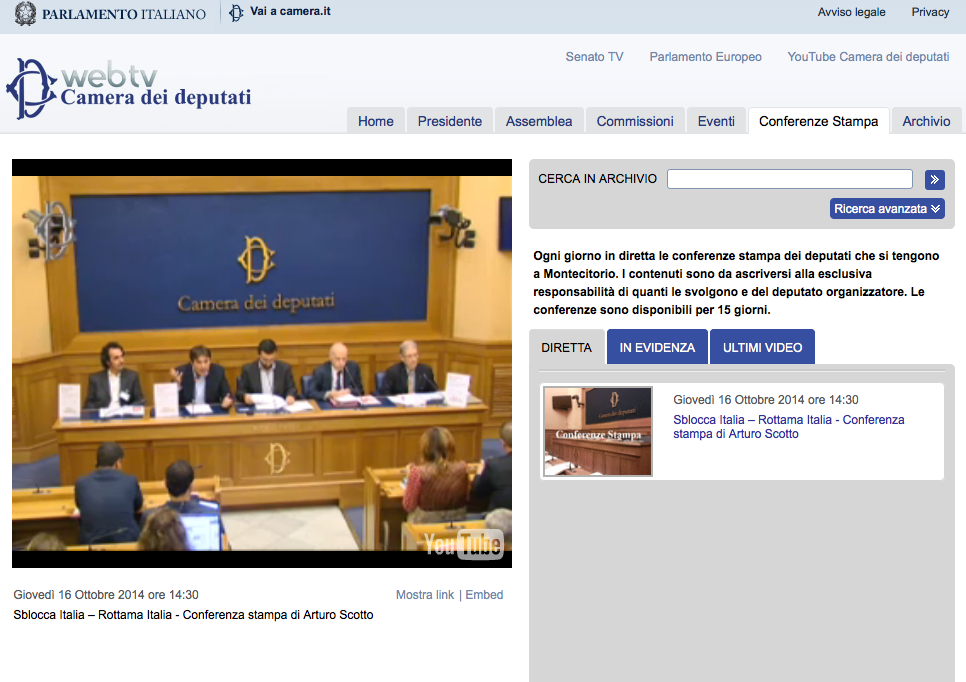 streaming acon rottama italia