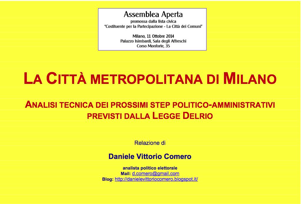1 DELRIO-Slide per ASSEMBLEA 11-10-2014