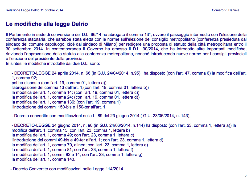 3 DELRIO-Slide per ASSEMBLEA 11-10-2014