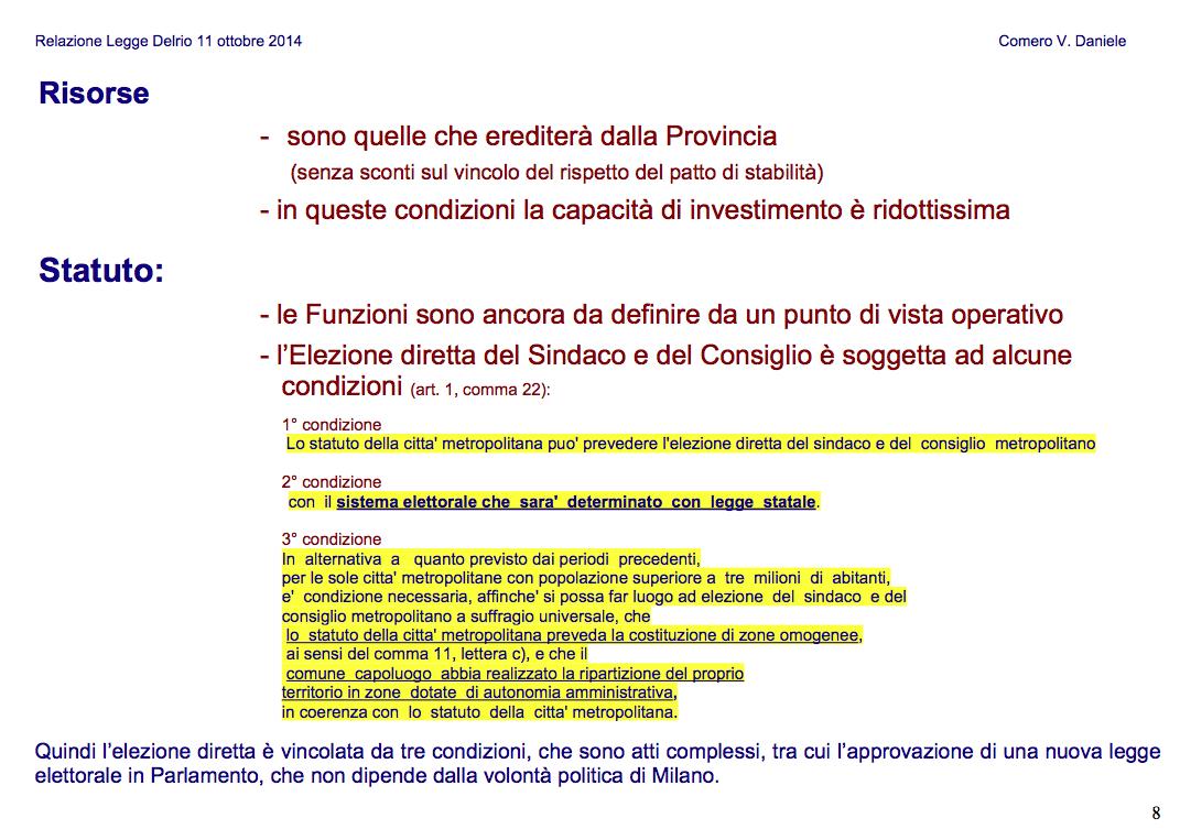 8 DELRIO-Slide per ASSEMBLEA 11-10-2014