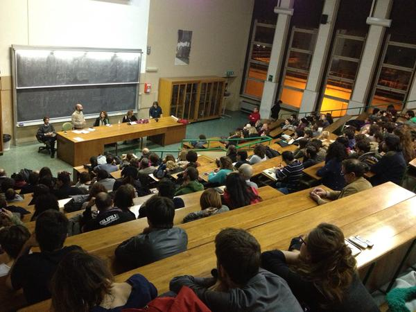 Assemblea all'università su Mafia Capitale