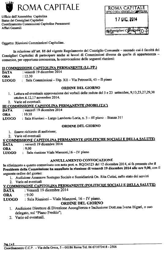 PDF ODG tipo delle Commissioni Capitoline
