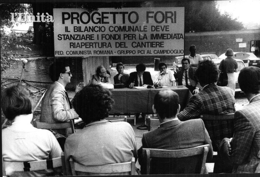 Foto dall'archivio de L'Unità