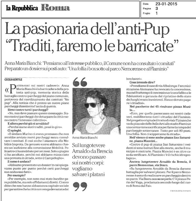 Repubblica Pup 23 gennaio 2015