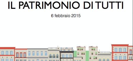 La locandina di Roma Capitale per la presentazione dell'operazione immobiliare