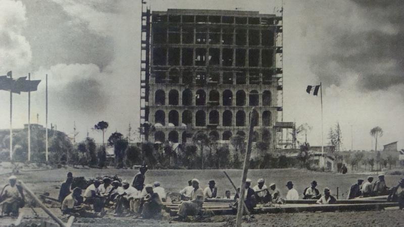Copia di eur palazzo umanesimo E42_in_costruzione