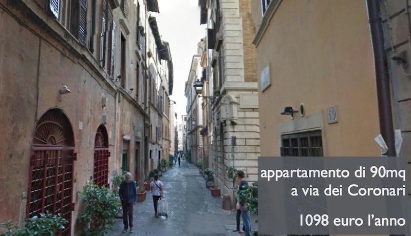 coronari immobili roma