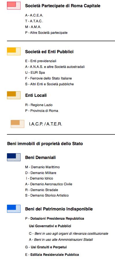 legenda mappa roma pubblica 3