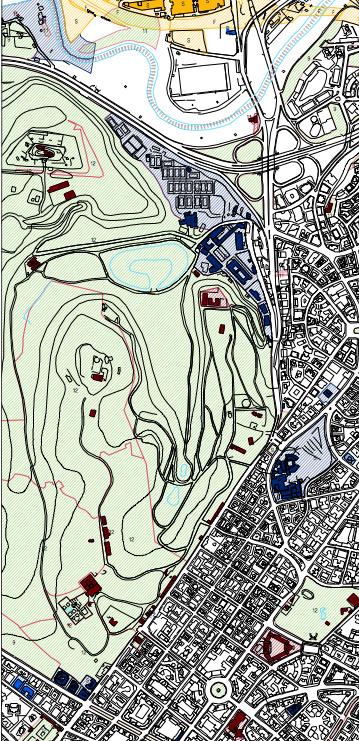 mappa roma pubblica  villa ada 1