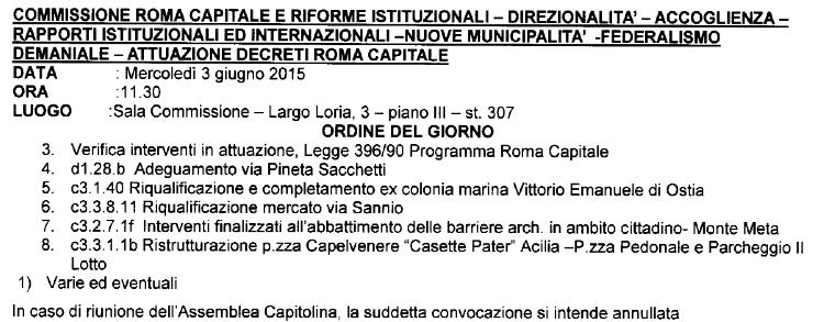 ODG comm roma capitale 3 giugno 2015