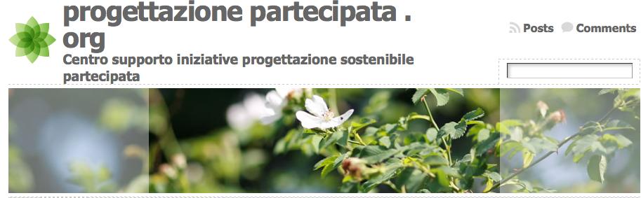 psp progettazione sostenibile partecipata