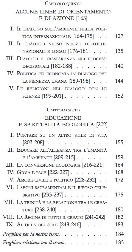 indice enciclica papa 3